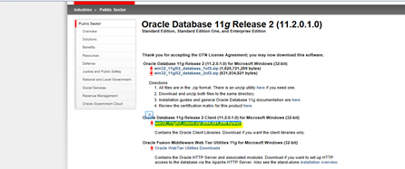 Odbc download driver bit for 32 11g 11.2.0.1.0 oracle